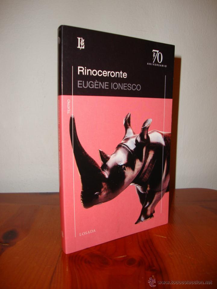 el rinoceronte - eugene ionesco