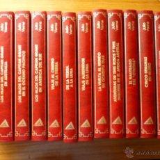 Libros de segunda mano: COLECCIÓN JULIO VERNE (15 TOMOS) - EDITORIAL RUEDA (AÑO 1991). Lote 49866288