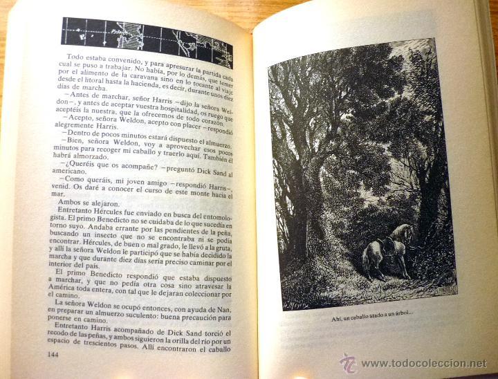 Libros de segunda mano: Colección Julio Verne (15 tomos) - Editorial Rueda (año 1991) - Foto 4 - 49866288