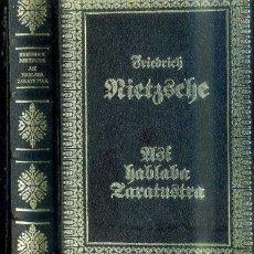 Libros de segunda mano: NIETZSCHE : ASÍ HABLABA ZARATUSTRA (CLUB INTERNACIONAL DEL LIBRO, 1985). Lote 49971114