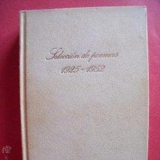 Libros de segunda mano: PABLO NERUDA.-SELECCION DE POEMAS (1925-1952).-CIRCULO DE LECTORES.-AÑO 1973.. Lote 50103275