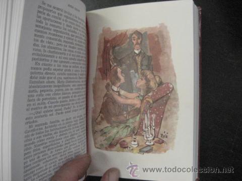 Libros de segunda mano: CHEJOV, OBRAS INMORTALES, EDAF 1965 PLENA PIEL ILUSTRADO , EN ESTUCHE, MUY BUEN ESTADO REF F3 - Foto 6 - 50104777