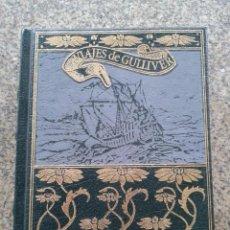 Libros de segunda mano: VIAJES DE GULLIVER -- JONATHAN SWIFT -- GRANDES GENIOS DE LA LITERATURA UNIVERSAL --. Lote 50111079
