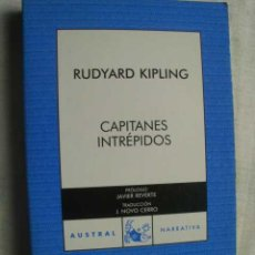 Libros de segunda mano: CAPITANES INTRÉPIDOS. KIPLING, RUDYARD. 2007. Lote 50215697