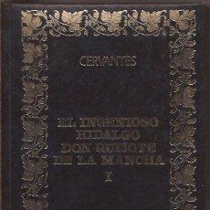 Libros de segunda mano: EL INGENIOSO HIDALGO DON QUIJOTE DE LA MANCHA 2 VOL. - MIGUEL CERVANTES. Lote 50244028