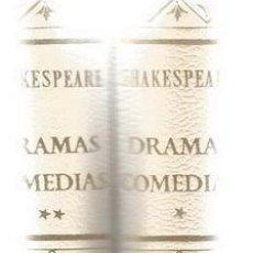Libros de segunda mano: SHAKESPEARE. DRAMAS. COMEDIAS. DOS TOMOS. RM70403. . Lote 50547230