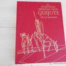Libros de segunda mano: DON QUIJOTE DE LA MANCHA..EDICION LIMITADA 5000 EJEMPLARES NUMERADOS. Lote 50566378