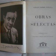 Libros de segunda mano - ENRIQUE JARDIEL PONCELA. OBRAS SELECTAS. EDITORIAL CARROGGIO 1973. - 50677377