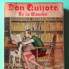 Libros de segunda mano: DON QUIJOTE DE LA MANCHA. EDICIÓN ILUSTRADA. EDITORIAL EL LIBRO ESPAÑOL, 1959. MÉXICO. Lote 50701058
