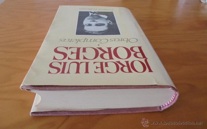 Libros de segunda mano: JORGE LUIS BORGES. OBRAS COMPLETAS. TOMOS I, II Y IV. ED. EMECE. VER FOTOGRAFÍAS. - Foto 6 - 57317467