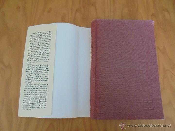 Libros de segunda mano: JORGE LUIS BORGES. OBRAS COMPLETAS. TOMOS I, II Y IV. ED. EMECE. VER FOTOGRAFÍAS. - Foto 8 - 57317467