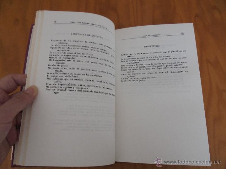 Libros de segunda mano: JORGE LUIS BORGES. OBRAS COMPLETAS. TOMOS I, II Y IV. ED. EMECE. VER FOTOGRAFÍAS. - Foto 23 - 57317467