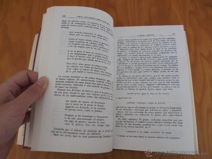 Libros de segunda mano: JORGE LUIS BORGES. OBRAS COMPLETAS. TOMOS I, II Y IV. ED. EMECE. VER FOTOGRAFÍAS. - Foto 24 - 57317467