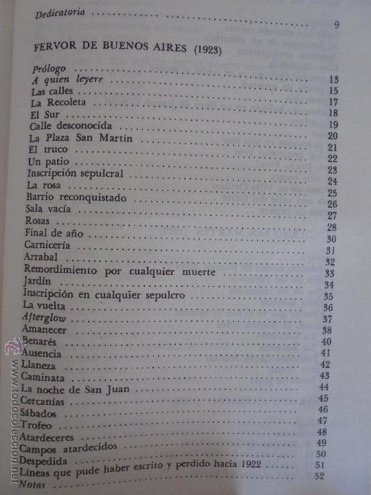 Libros de segunda mano: JORGE LUIS BORGES. OBRAS COMPLETAS. TOMOS I, II Y IV. ED. EMECE. VER FOTOGRAFÍAS. - Foto 28 - 57317467