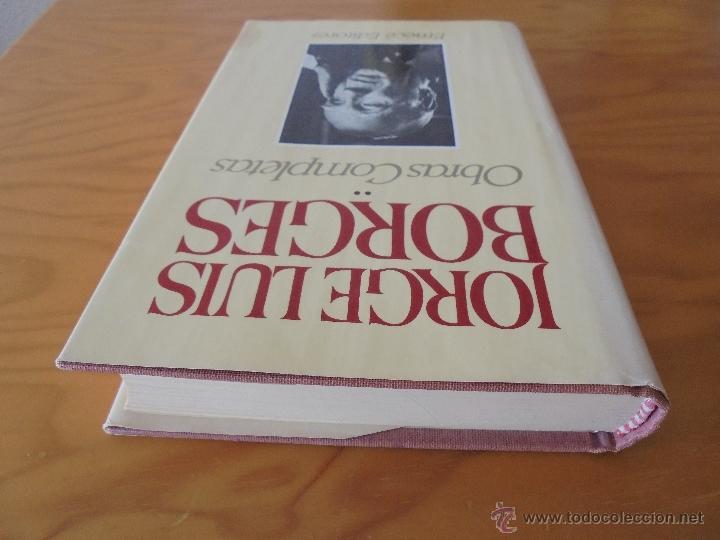 Libros de segunda mano: JORGE LUIS BORGES. OBRAS COMPLETAS. TOMOS I, II Y IV. ED. EMECE. VER FOTOGRAFÍAS. - Foto 43 - 57317467