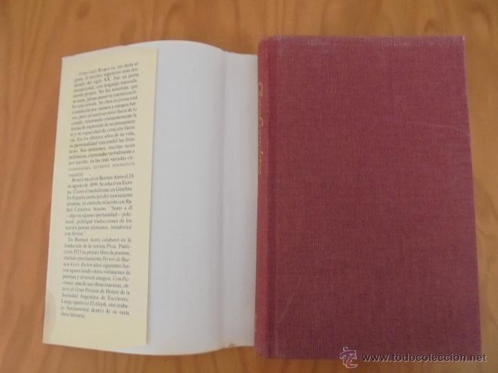 Libros de segunda mano: JORGE LUIS BORGES. OBRAS COMPLETAS. TOMOS I, II Y IV. ED. EMECE. VER FOTOGRAFÍAS. - Foto 45 - 57317467