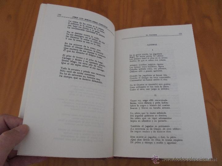 Libros de segunda mano: JORGE LUIS BORGES. OBRAS COMPLETAS. TOMOS I, II Y IV. ED. EMECE. VER FOTOGRAFÍAS. - Foto 53 - 57317467