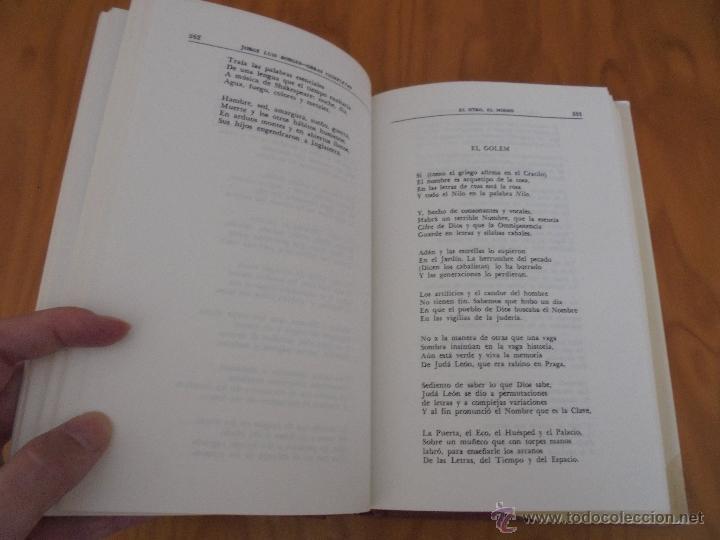 Libros de segunda mano: JORGE LUIS BORGES. OBRAS COMPLETAS. TOMOS I, II Y IV. ED. EMECE. VER FOTOGRAFÍAS. - Foto 54 - 57317467