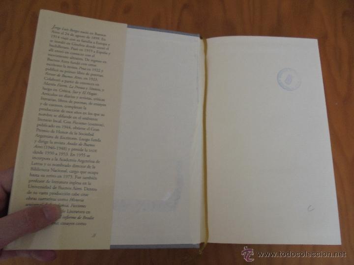 Libros de segunda mano: JORGE LUIS BORGES. OBRAS COMPLETAS. TOMOS I, II Y IV. ED. EMECE. VER FOTOGRAFÍAS. - Foto 78 - 57317467