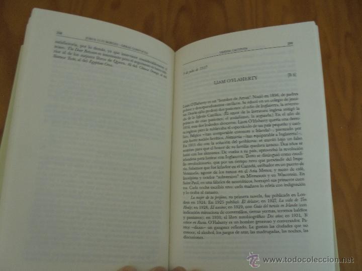 Libros de segunda mano: JORGE LUIS BORGES. OBRAS COMPLETAS. TOMOS I, II Y IV. ED. EMECE. VER FOTOGRAFÍAS. - Foto 85 - 57317467