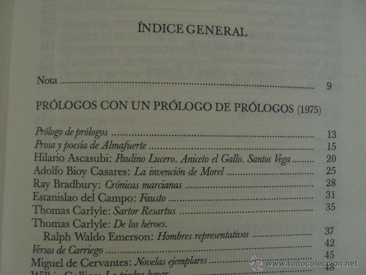 Libros de segunda mano: JORGE LUIS BORGES. OBRAS COMPLETAS. TOMOS I, II Y IV. ED. EMECE. VER FOTOGRAFÍAS. - Foto 86 - 57317467