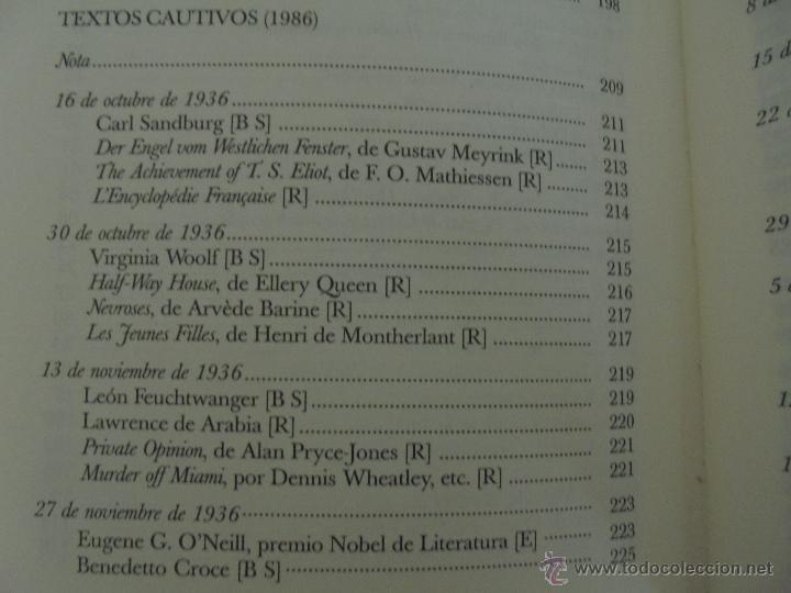 Libros de segunda mano: JORGE LUIS BORGES. OBRAS COMPLETAS. TOMOS I, II Y IV. ED. EMECE. VER FOTOGRAFÍAS. - Foto 89 - 57317467