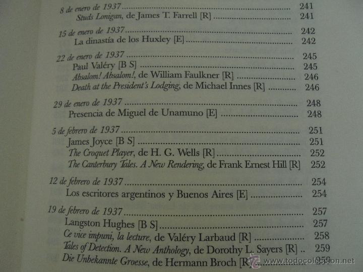 Libros de segunda mano: JORGE LUIS BORGES. OBRAS COMPLETAS. TOMOS I, II Y IV. ED. EMECE. VER FOTOGRAFÍAS. - Foto 91 - 57317467