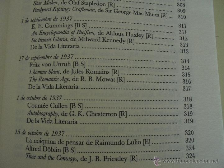 Libros de segunda mano: JORGE LUIS BORGES. OBRAS COMPLETAS. TOMOS I, II Y IV. ED. EMECE. VER FOTOGRAFÍAS. - Foto 95 - 57317467