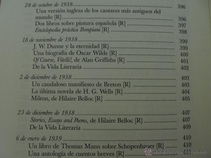 Libros de segunda mano: JORGE LUIS BORGES. OBRAS COMPLETAS. TOMOS I, II Y IV. ED. EMECE. VER FOTOGRAFÍAS. - Foto 101 - 57317467