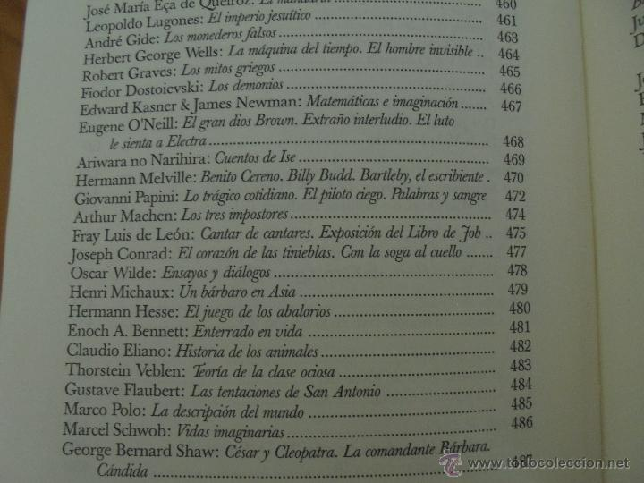 Libros de segunda mano: JORGE LUIS BORGES. OBRAS COMPLETAS. TOMOS I, II Y IV. ED. EMECE. VER FOTOGRAFÍAS. - Foto 105 - 57317467