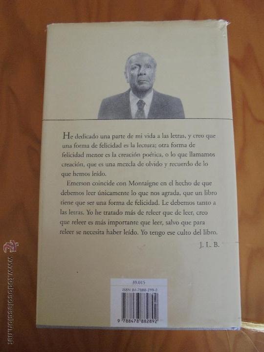 Libros de segunda mano: JORGE LUIS BORGES. OBRAS COMPLETAS. TOMOS I, II Y IV. ED. EMECE. VER FOTOGRAFÍAS. - Foto 109 - 57317467