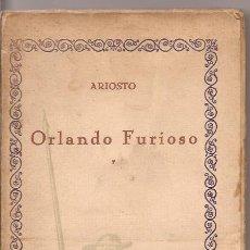 Libros de segunda mano: ORLANDO FURIOSO - ARIOSTO - COMPAÑÍA IBERO-AMERICANA DE PUBLICACIONES. Lote 51167228