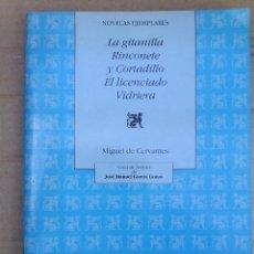 Libros de segunda mano: CUADERNO GUIA DE LECTURA DE LA OBRA DE MIGUEL DE CERVANTES DE 1991. Lote 51385487