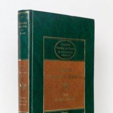 Libros de segunda mano: FUERTE COMO LA MUERTE- GUY DE MAUPASSANT- GRANDES NOVELAS DE AMOR DE LA LITERATURA UNIVERSAL. Lote 51472354