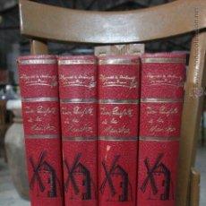 Libros de segunda mano: DON QUIJOTE DE LA MANCHA - 4 TOMOS - COMPLETA - EDICIONES GINER -1967. Lote 51636058