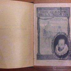 Libros de segunda mano: EL INGENIOSO HIDALGO DON QUIJOTE DE LA MANCHA. MIGUEL DE CERVANTES. RAMÓN SOPENA. Lote 51763441