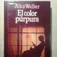 Libros de segunda mano: EL COLOR PÚRPURA. ALICE WALKER. CÍRCULO DE LECTORES.. Lote 52004521