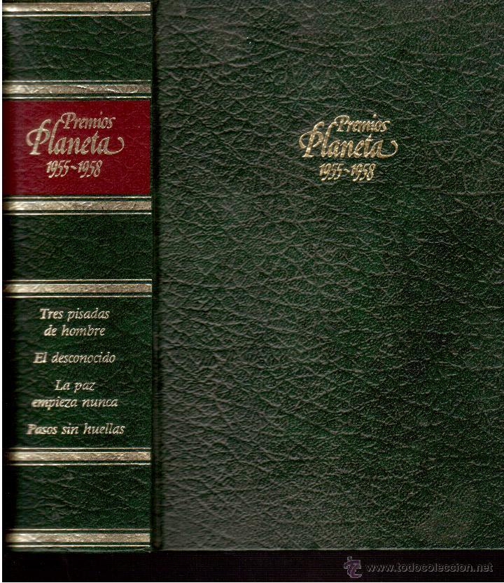 PREMIOS PLANETA1955--56--57--58 (Libros de Segunda Mano (posteriores a 1936) - Literatura - Narrativa - Clásicos)