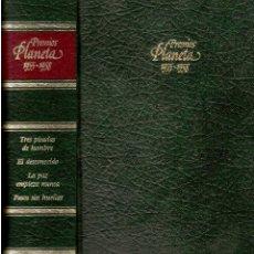 Libros de segunda mano: PREMIOS PLANETA1955--56--57--58. Lote 52278838