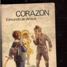 Libros de segunda mano: CORAZON EDMUNDO DE AMICIS. Lote 52278961