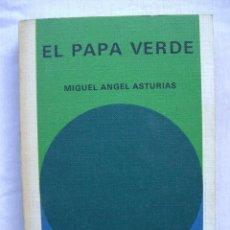 Libros de segunda mano: EL PAPA VERDE. MIGUEL ANGEL ASTURIAS. BIBLIOTECA GENERAL SALVAT 1.. Lote 52414964
