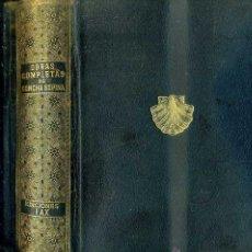Libros de segunda mano: CONCHA ESPINA : OBRAS COMPLETAS (FAX, 1944). Lote 128856156