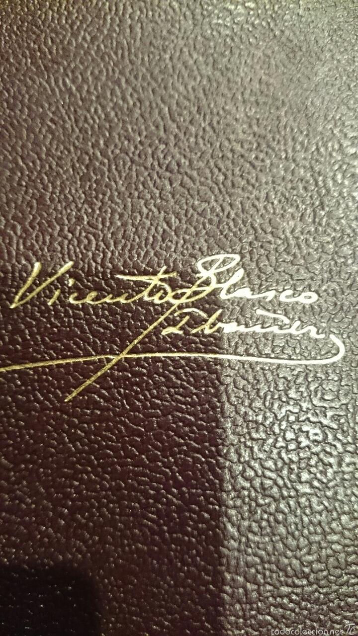Libros de segunda mano: OBRAS COMPLETAS. VICENTE BLASCO IBAÑEZ. 3 TOMOS, AÑO 1949 EDITORIAL AGUILAR - Foto 2 - 52805327