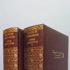 Livres d'occasion: 2003.- OBRAS COMPLETAS. MIGUEL DE CERVANTES. AGUILAR. Lote 52881399