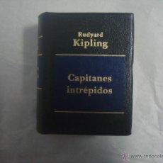 Libros de segunda mano: LIBRO MINIATURA. RUDYARD KIPLING. CAPITANES INTREPIDOS. 2002.. Lote 52928300