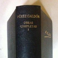 Libros de segunda mano: PÉREZ GALDÓS. OBRAS COMPLETAS I. 2004. Lote 52985519