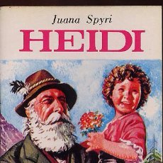Libros de segunda mano: MINILIBRO MINIBIBLIOTECA DE LA LITERATURA UNIVERSAL - HEIDI - JUANA SPYRI --(REF-SAMIIZES2). Lote 53271846