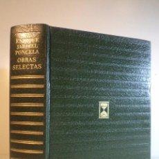 Libros de segunda mano - OBRAS SELECTAS. JARDIEL PONCELA, Enrique. Colección Contemporáneos. Edic Carroggio, 2ª Ed. 1973 - 53324451
