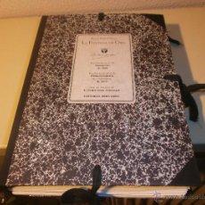 Libros de segunda mano: BENITO PEREZ GALDOS - LA FONTANA DE ORO -CARPETA MANUSCRITO AÑO 1870 EDICION FACSIMIL 1990. Lote 177429862