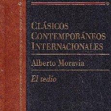 Livres d'occasion: EL TEDIO - ALBERTO MORAVIA - CLASICOS CONTEMPORANEOS INTERNACIONALES - PLANETA. Lote 53337375